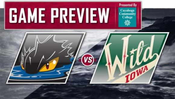Iowa Wild vs. Cleveland Monsters at Wells Fargo Arena