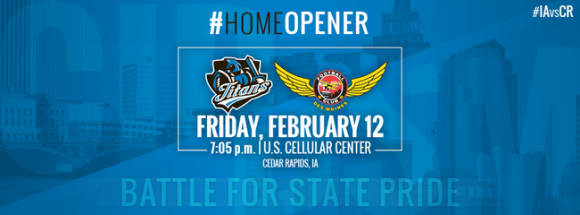 Iowa Barnstormers vs. Cedar Rapids Titans at Wells Fargo Arena