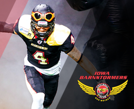 Iowa Barnstormers vs. West Michigan Ironmen  at Wells Fargo Arena