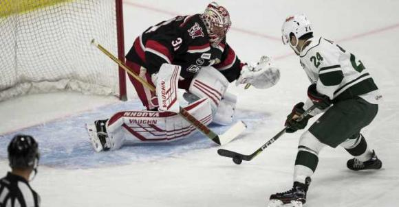 Iowa Wild vs. Grand Rapids Griffins at Wells Fargo Arena