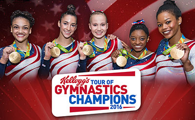 USA Gymnastics Championships at Wells Fargo Arena