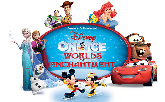 Disney On Ice: Worlds of Enchantment at Wells Fargo Arena