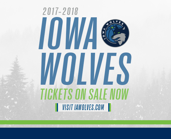 Iowa Wolves vs. Delaware 87ers at Wells Fargo Arena