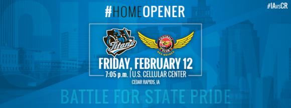 Iowa Barnstormers vs. Cedar Rapids Titans at Wells Fargo Arena