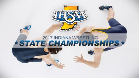 IHSAA State Wrestling Tournament - Session 8 at Wells Fargo Arena