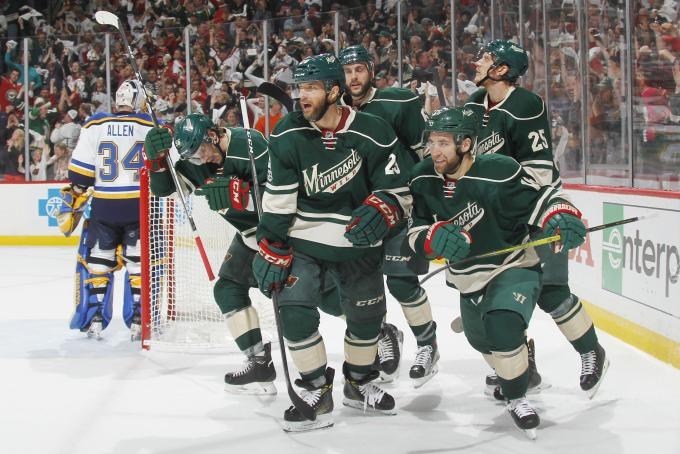 NHL Preseason: Minnesota Wild vs. St. Louis Blues at Wells Fargo Arena