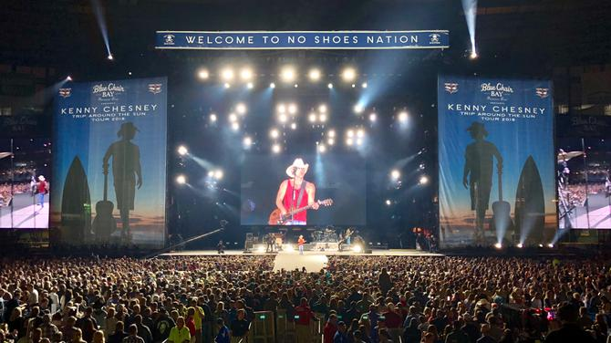 Kenny Chesney at Wells Fargo Arena