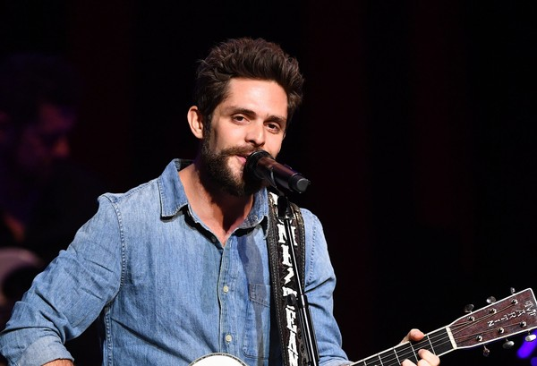 Thomas Rhett, Dustin Lynch & Russell Dickerson at Wells Fargo Arena