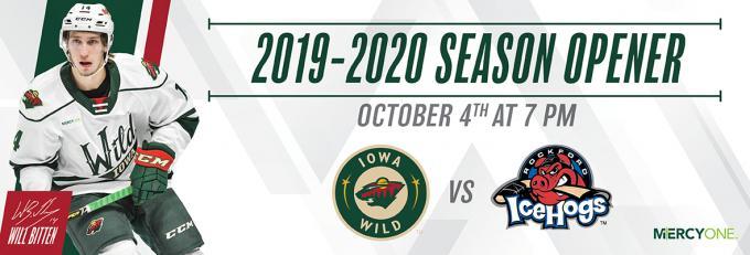 Iowa Wild vs. San Antonio Rampage [POSTPONED] at Wells Fargo Arena