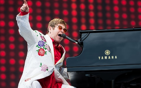 Elton John [POSTPONED] at Wells Fargo Arena