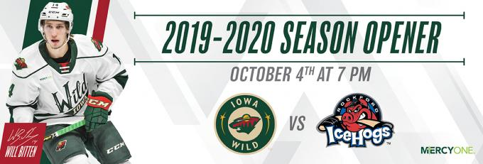 Iowa Wild vs. Milwaukee Admirals [CANCELLED] at Wells Fargo Arena