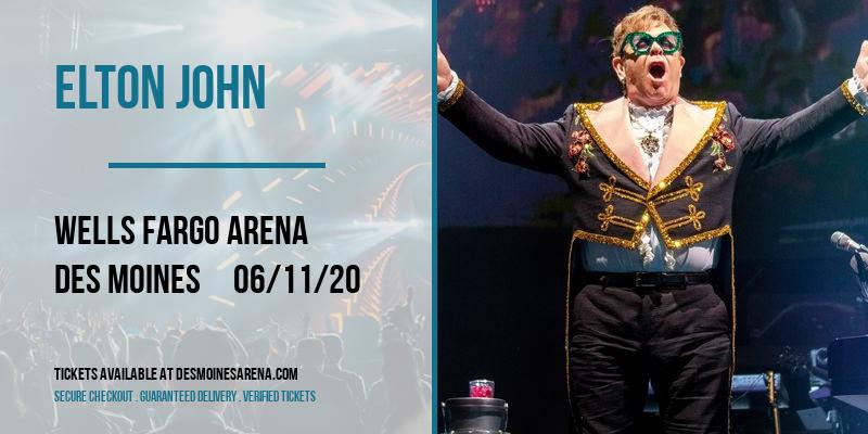 Elton John at Wells Fargo Arena
