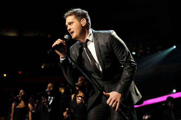 Michael Buble at Wells Fargo Arena