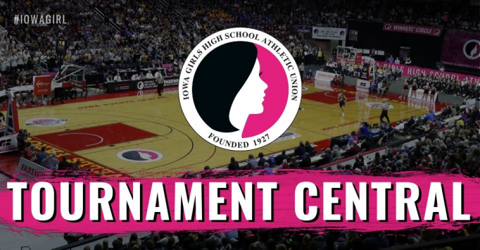 IGHSAU State Girls Basketball Tournament 3A Semifinal at Wells Fargo Arena