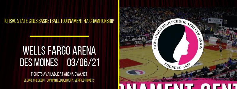 IGHSAU State Girls Basketball Tournament 4A Championship at Wells Fargo Arena