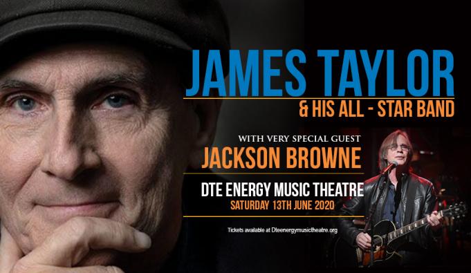 James Taylor & Jackson Browne at Wells Fargo Arena
